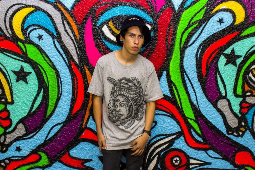 Custom shirts are an integral part of the street art community.