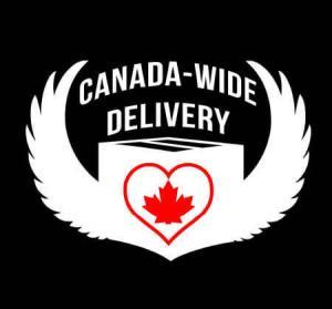 Canada Wide T-shirt Delivery!