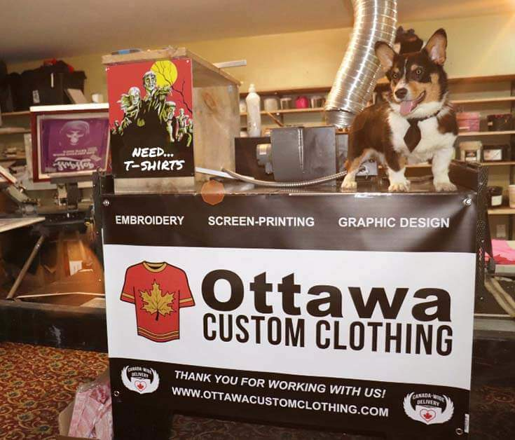 Ottawa Custom Clothing loves to help with T-shirt orders. Don't hesitate to contact us if you need help placing a Custom T-shirt order.